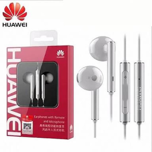 Original Huawei Am116 Headset Earphones Shopee Philippines