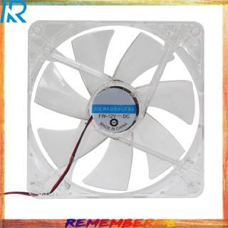 WinnerEco Case Fan 14cm 140mm RED LED 12V 4Pin Computer PC Case Cooler CPU Cooling LED Fan