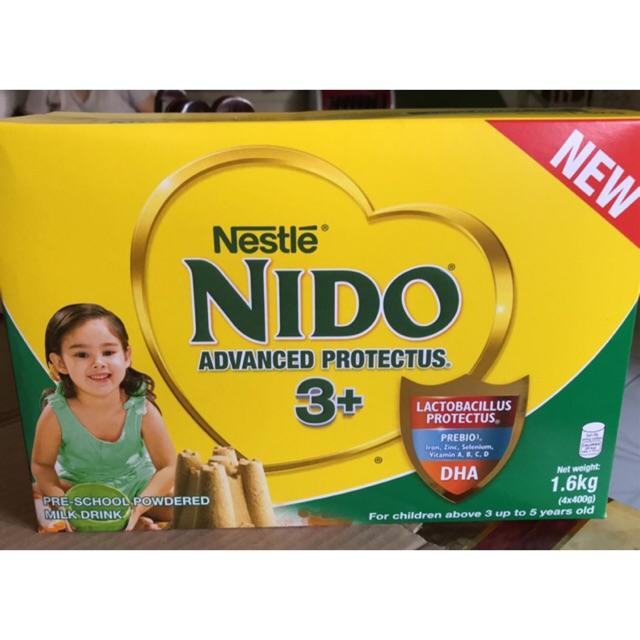 Nido 3+ Advanced Protectus 1 6kg + 400g = 2kg