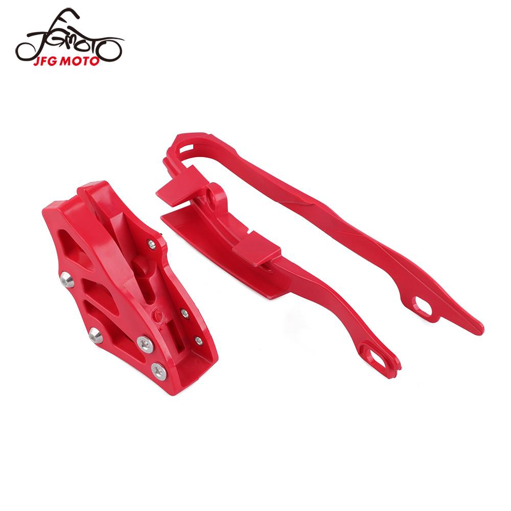 JFG RACING CNC Chain Guard Guide Protector For For Honda CR125R CR250R CRF250R CRF450R CRF250X CRF450X 2005-2007