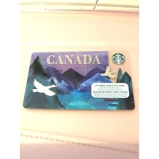 Canada Starbucks Gift Card Collectors