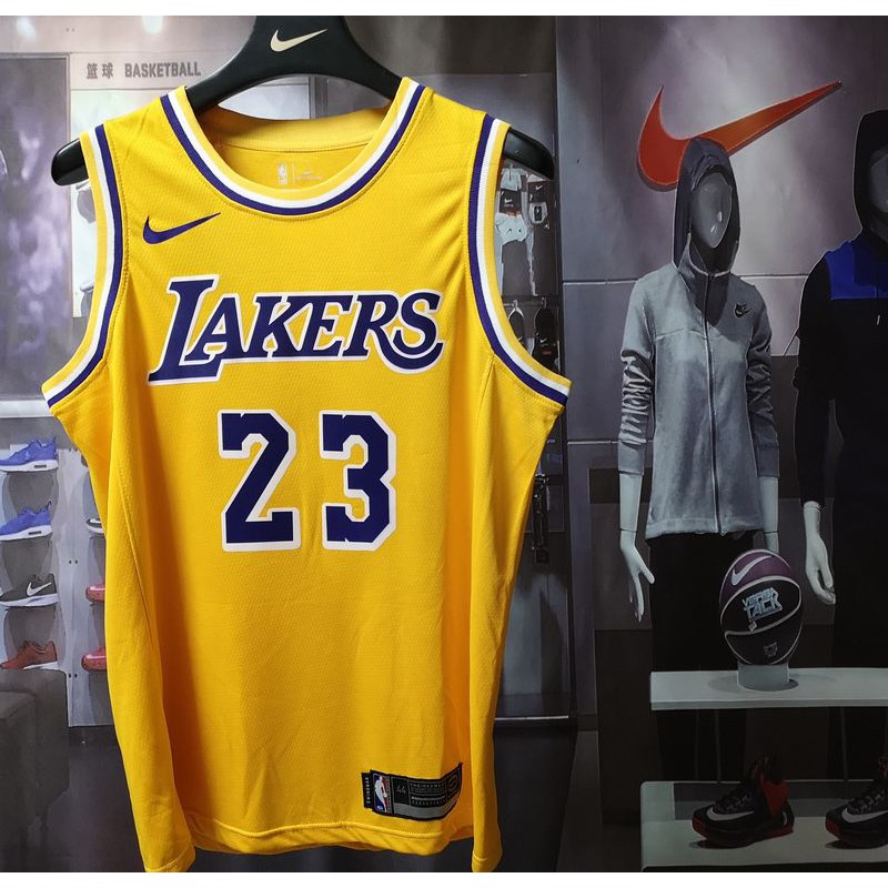 new arrival 37849 b7eff NBA Nike Jersey Lakers 23 James Jersey