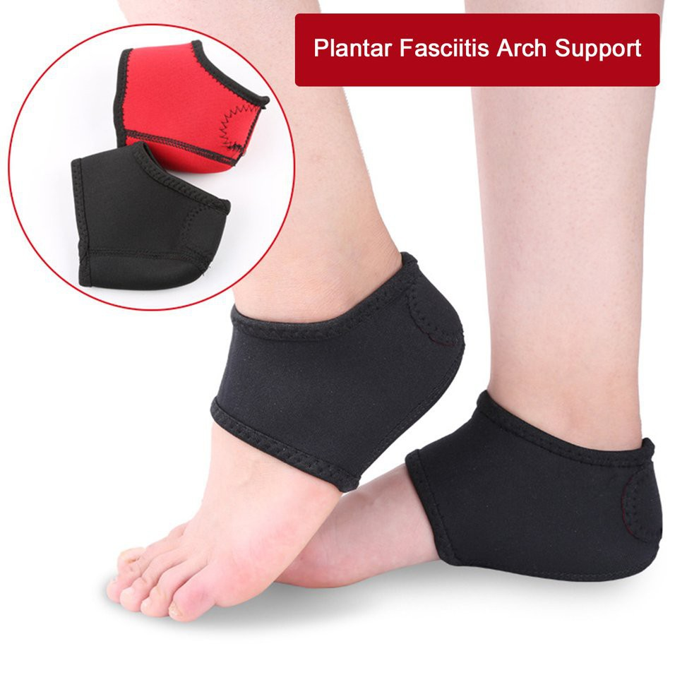Plantar Fasciitis Heel Arch Support Foot Pain Relief Sleeve Cushion Wrap