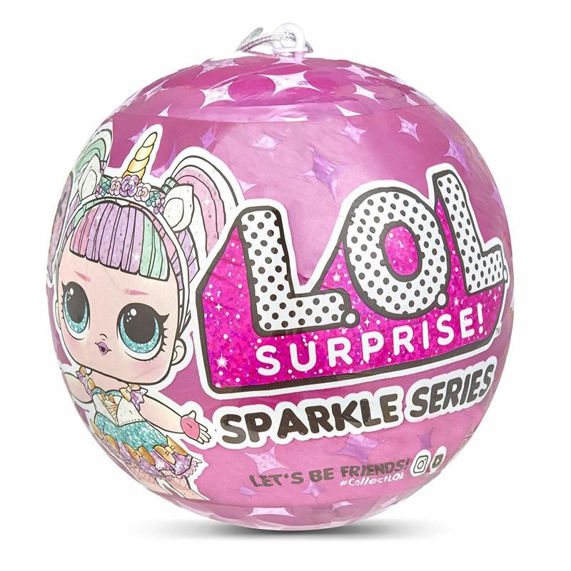 LOL Surprise Glitter Series Doll Ball Unwrap 7 Layers L.O.L Let's Be Friends New