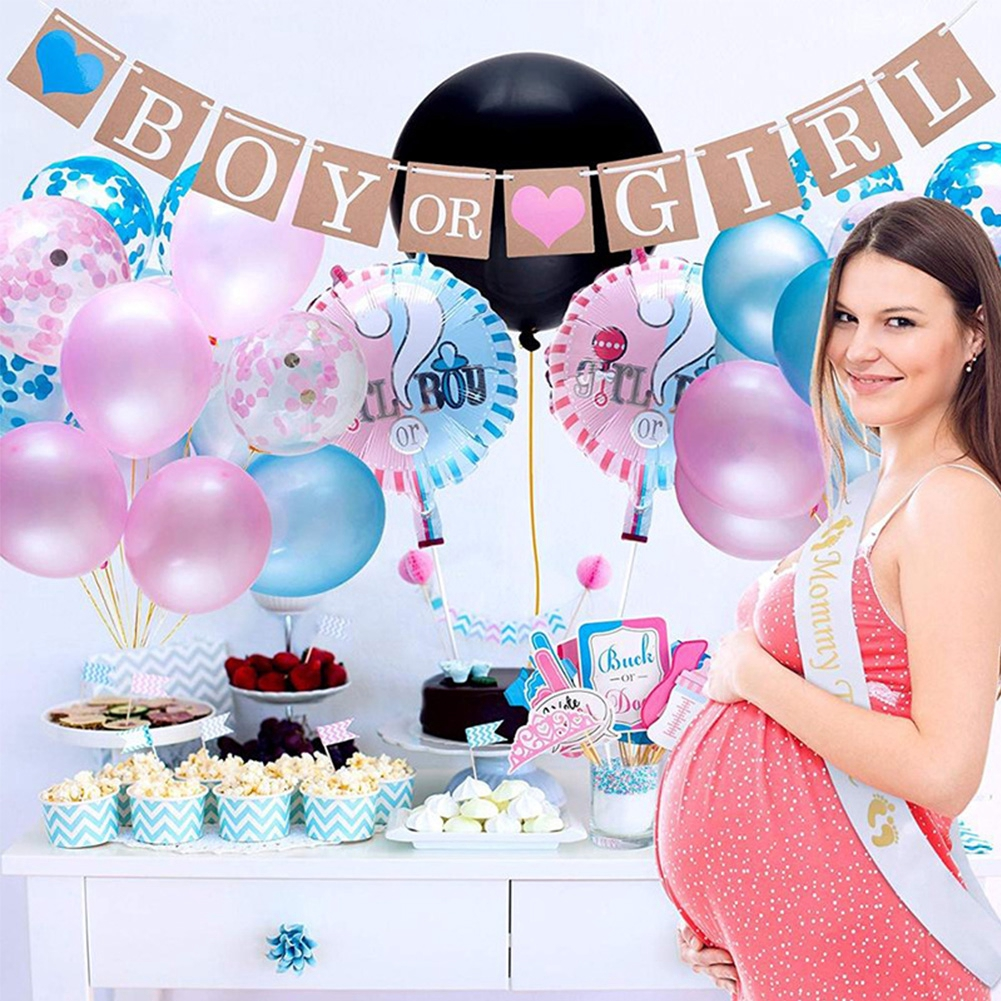 Baby Shower Baby One piece Party Decor 100 Gender Reveal Confetti