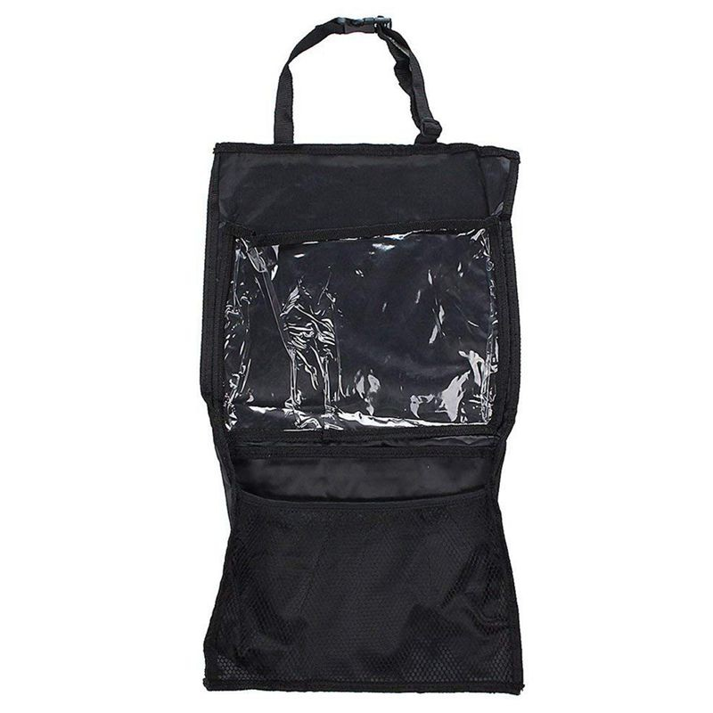 2PCS Back Car Van Seat Kid Organiser Multi-pocket Headrest Laptop Holder Storage