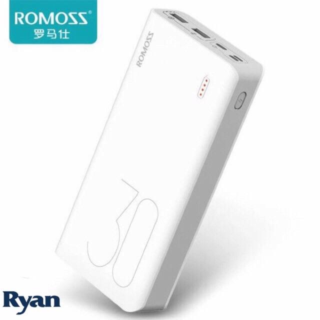 Original Romoss sense8 8P 30000mah powerbank