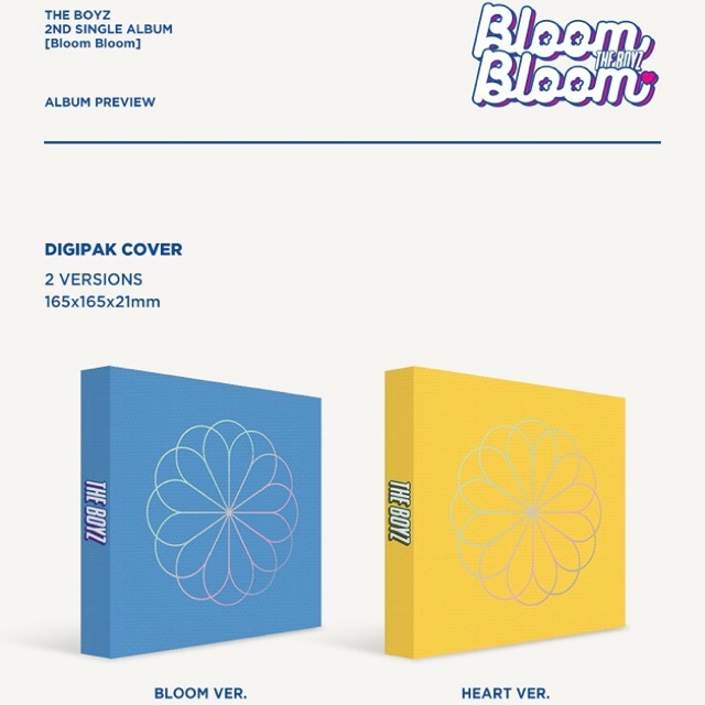 THE BOYZ - BLOOM BLOOM (SEALED)