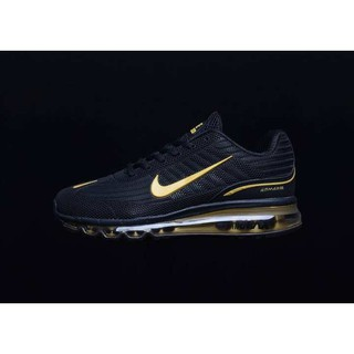 Fashion Golden Gray White Air Max 97 Nike Running Trainers