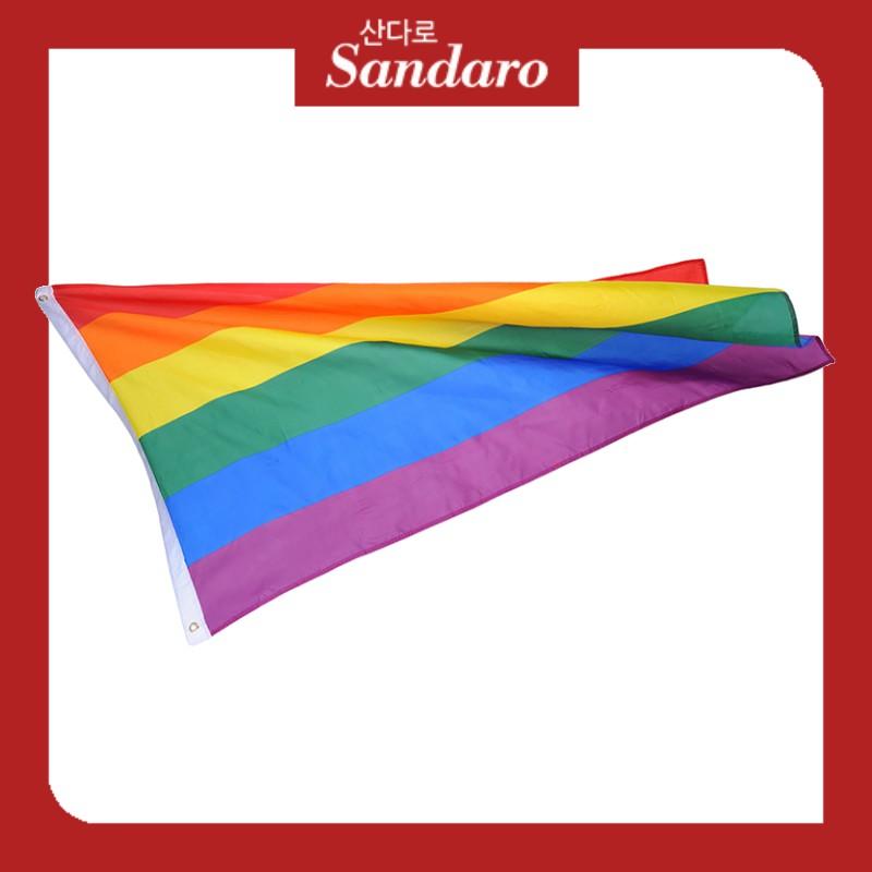 5 Metres Rainbow Gay Pride LGBT Flag Love Wins Lesbian Bunting Handheld Bisexual