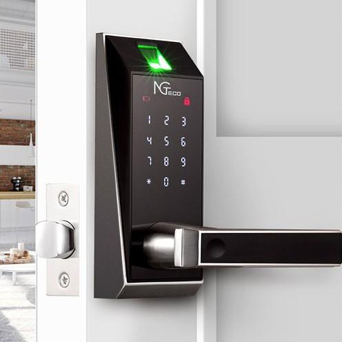Zkteco Al20b Smart Door Lock Fingerprint Door Electronic Lock App Password Key Digital Lock Keyless Shopee Philippines