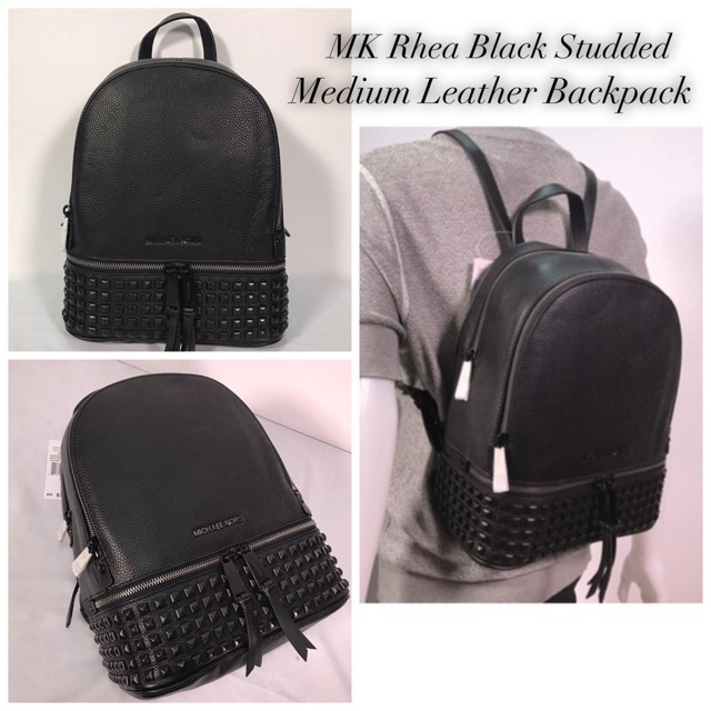 615bf2abd6d7 Michael Kors MK Rhea Zip Backpack | Shopee Philippines