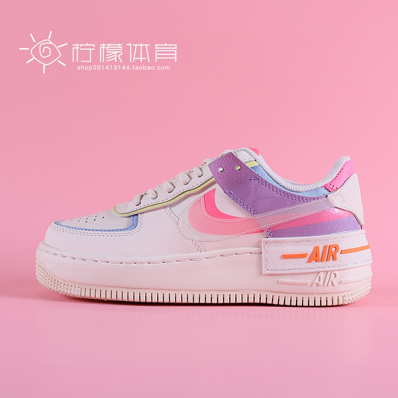 Humildad traje calificación  Nike Air Force 1 Nike Women's Shoes Air Force One Macaron Candy Cream AF1  Casual Board Shoes | Shopee Philippines