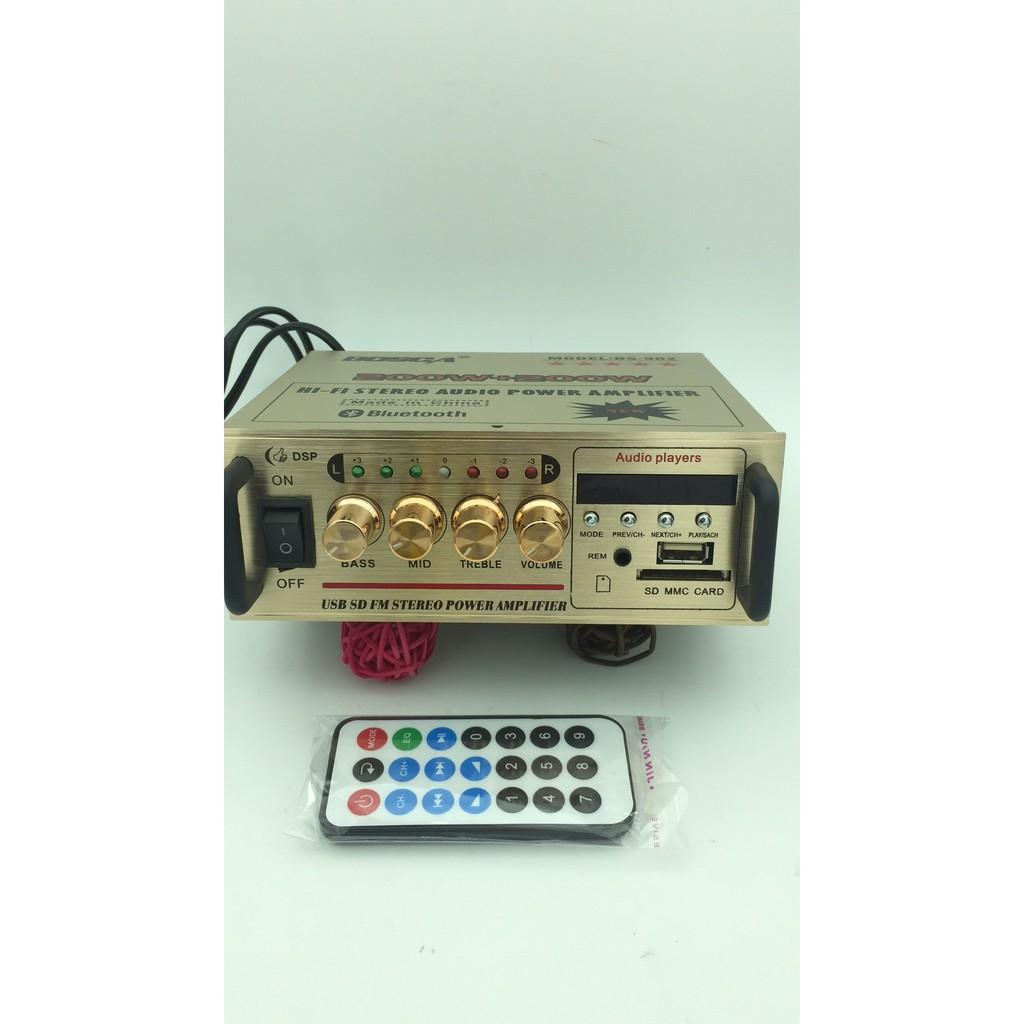 Bosca BS-902 USB/SD FM Stereo Audio 2 Channel Amplifier 200w