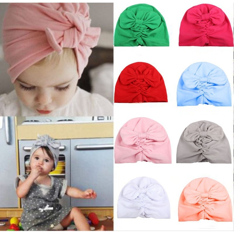 6057ad618 Baby Boy Girl Infant Newborn Winter Warm Beanie Cotton