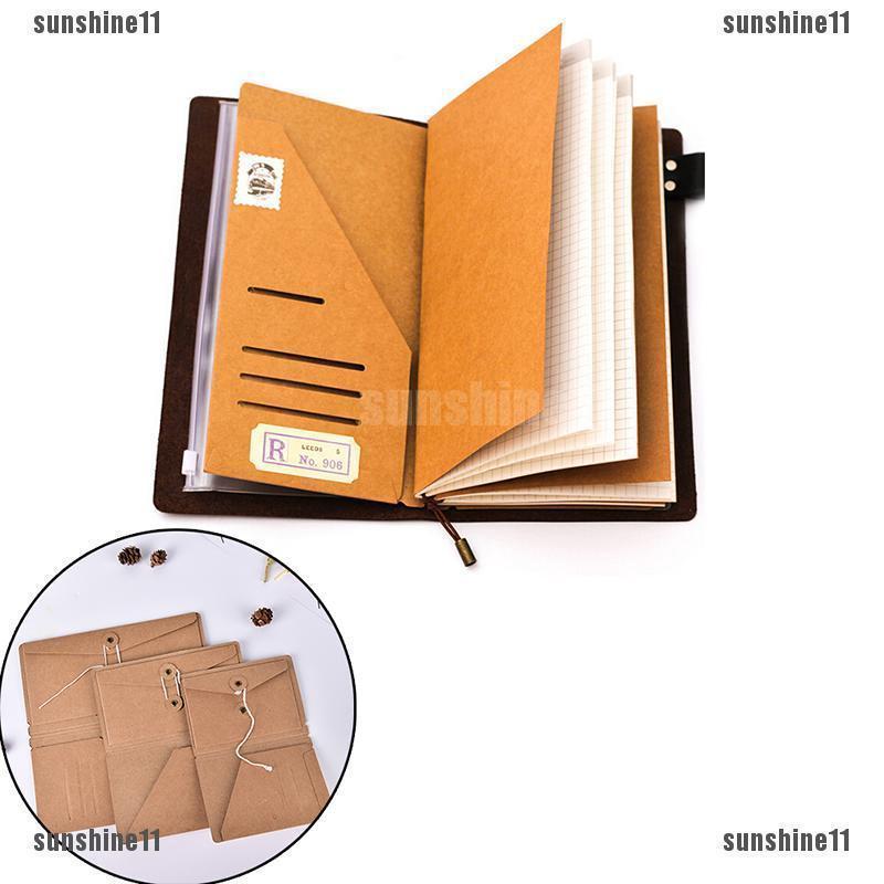 6 Colors Cute Notebook Note Index Paper Card Sticker Note