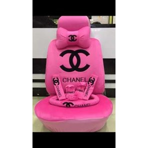 Chanel Pink Car Seat Accessories Covers Shopee Philippines