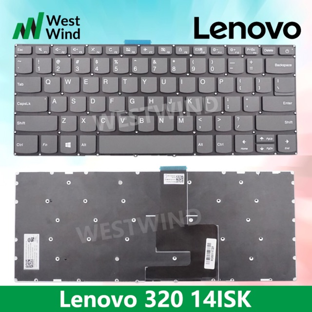 Lenovo IdeaPad Laptop Keyboard 320-14isk 320-14ast 320-14ikb