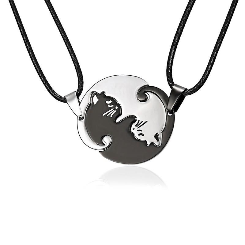 386e4a168c LK❈Titanium Steel Couple Bracelets Wrist Chain Jewelry   Shopee Philippines
