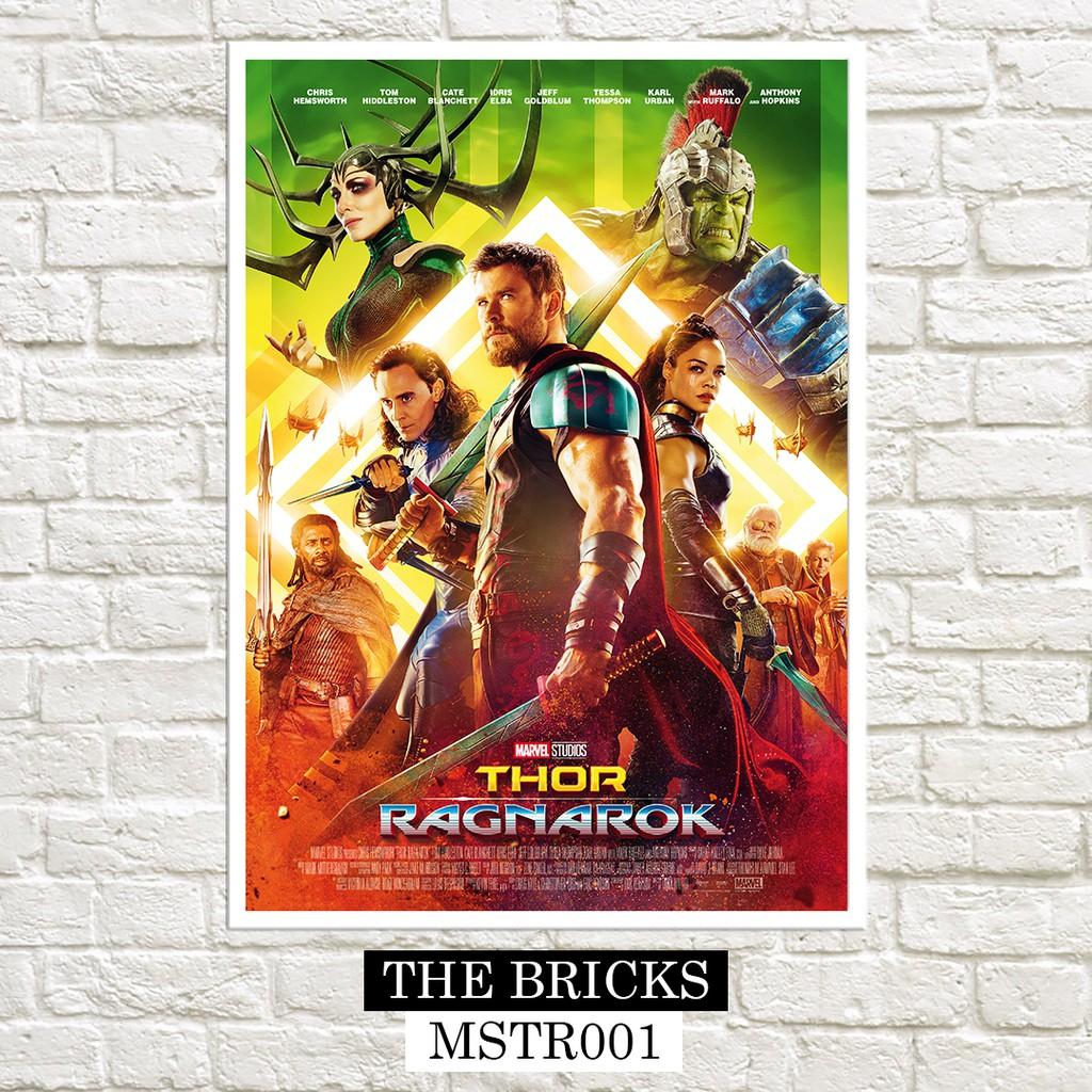 Canvas Thor Ragnarok Movie Tom Hiddleston Loki 2017 Art Print Poster