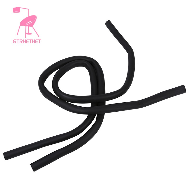 """2 Pcs 1//2/"""" x 3//8/"""" Foam Heat Insulated Pipe Black for Air Conditioner"""