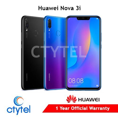 Huawei Nova 3i NTC 1 year Huawei warranty