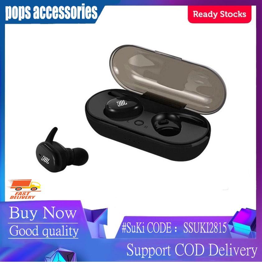 Jbl Tws4 Touch 5 0 Binaural Call Wireless Bluetooth Headset Shopee Philippines