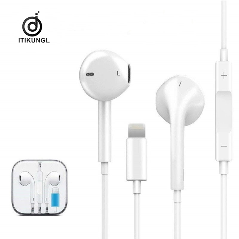 Wired Earbuds with Built-in Noise Isolating Microphone Strereo Powerful Bass in Ear Earphones with Volume Control Earphones Wired Bass Headphones for iPhone 11//X//XS//XS Max//XR//8//7 Plus//iPad Series