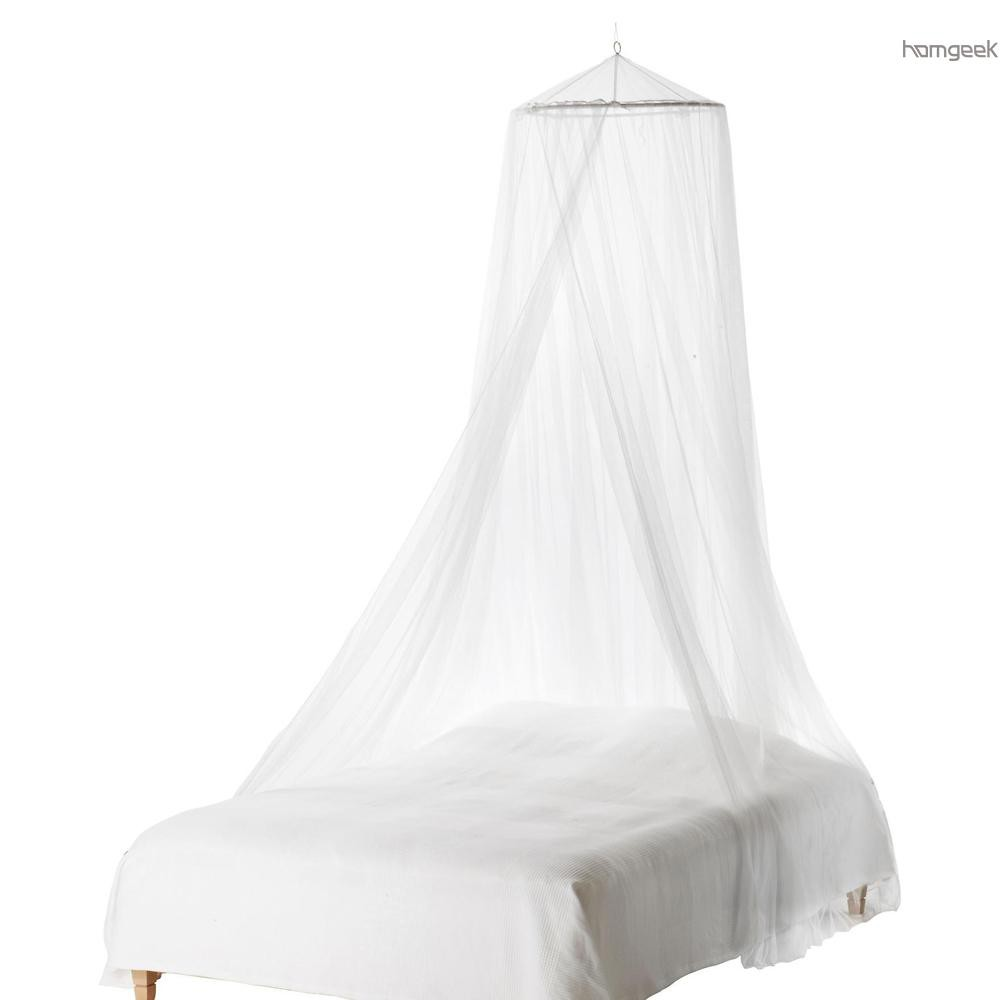 - Htovila Universal White Dome Mosquito Mesh Net Easy Installation