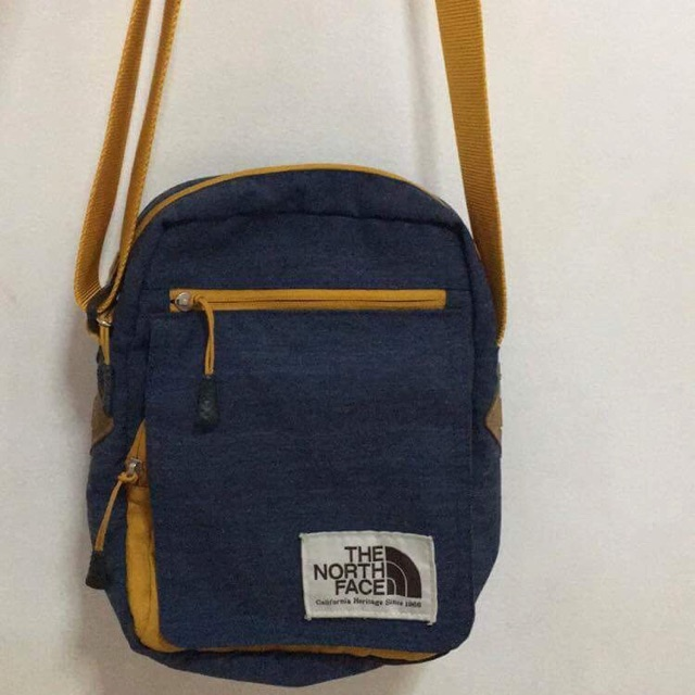 b6dee6fa722 North Face sling bag (authentic) | Shopee Philippines