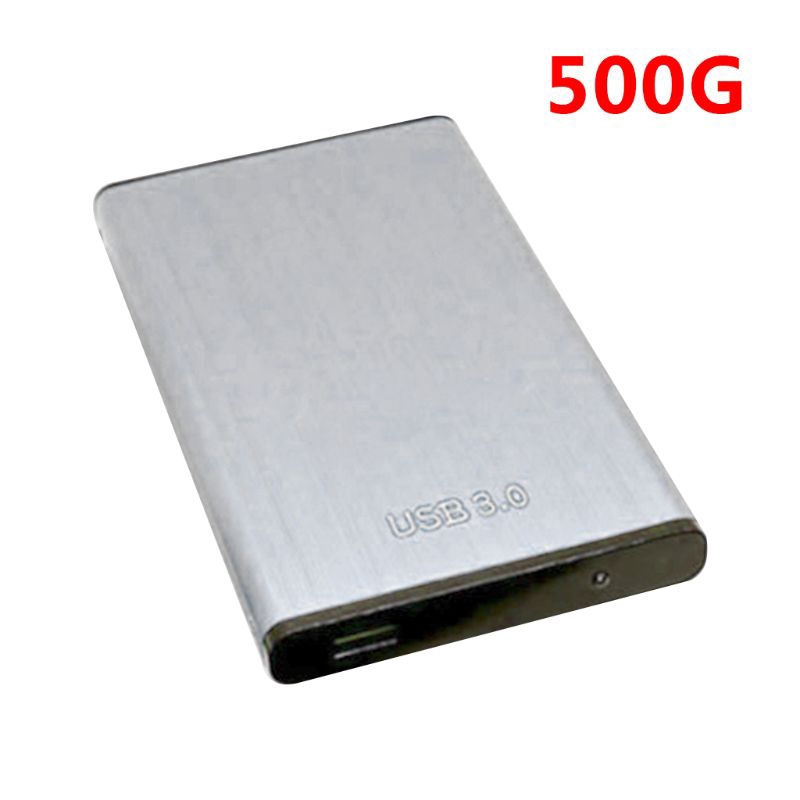 Metal Mobile Hard Drive 2.5 USB3.0 High Speed ​​Large Capacity Data Storage Mobile Hard Drive Color : Black, Size : 320G
