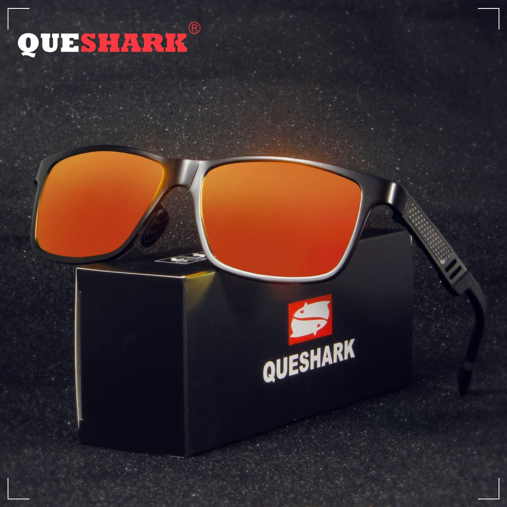 Mens HD Polarized Sunglasses Al-Mg Metal Frame Driving UV400 glasses Men Vintage