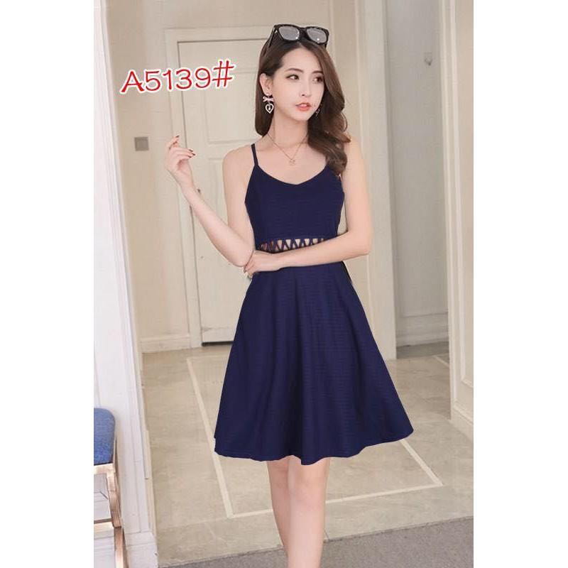 798eab93a51c0 WomenClothingGirl Elegant Slim Lace Short Sleeve Dress#5139