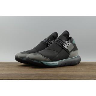 231c96d9e Adidas Y3 Qasa High Yohji Yamamoto men women shoes sports black3