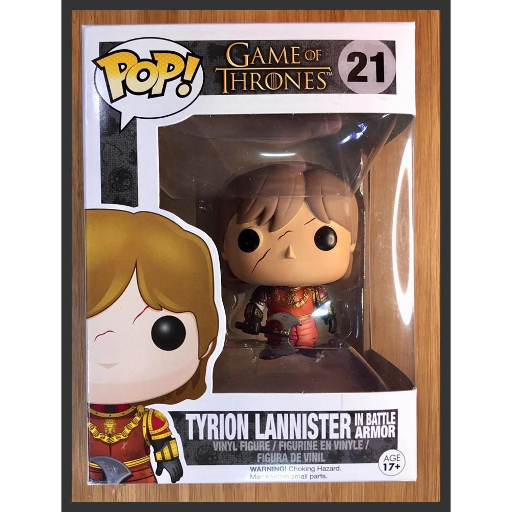 TYRION LANNISTER w// BATTLE ARMOR Vinyl Figure Funko POP TV /'Game of Thrones/'