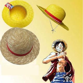 One Piece Luffy Straw Hat Anime Cosplay Boater Beach Cap Halloween Handmade Gift