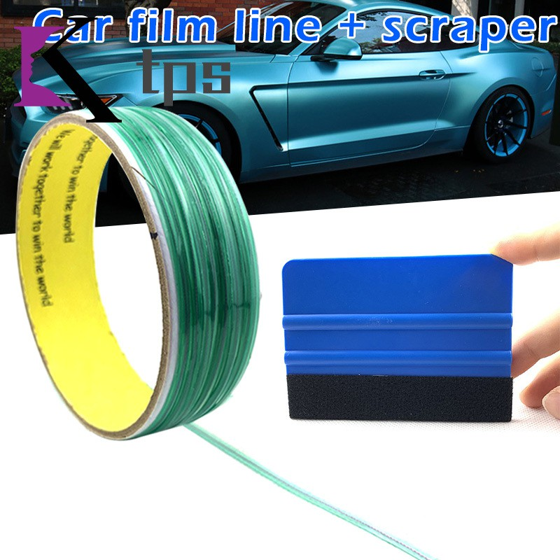 Squeegee for Car Wrapping Film Cutting Tool 10M Safe Finish Line Knifeless Tape
