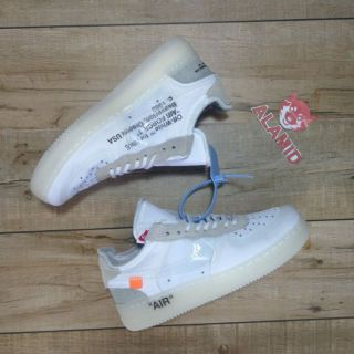 Off White x Nike Air Force 1 Low Ghosting | Shopee Philippines