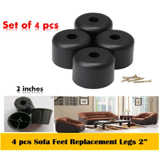4 Pcs Sofa Feet Legs Replacement, What Are The Parts Of A Sofa
