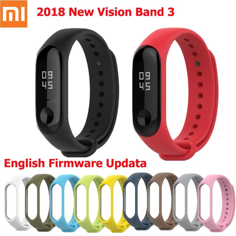 Original Xiaomi Mi Band 3 Miband 3 Fitness Tracker Heart Rate Monitor  Waterproof