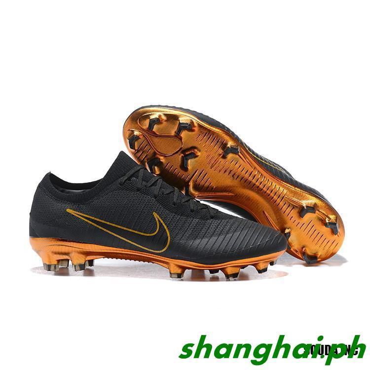 sports shoes 57143 22bba [shanghai]Original cod nike Mercurial Vapor Flyknit Ultra XI FG Men Cleats  Soccer Football Sho