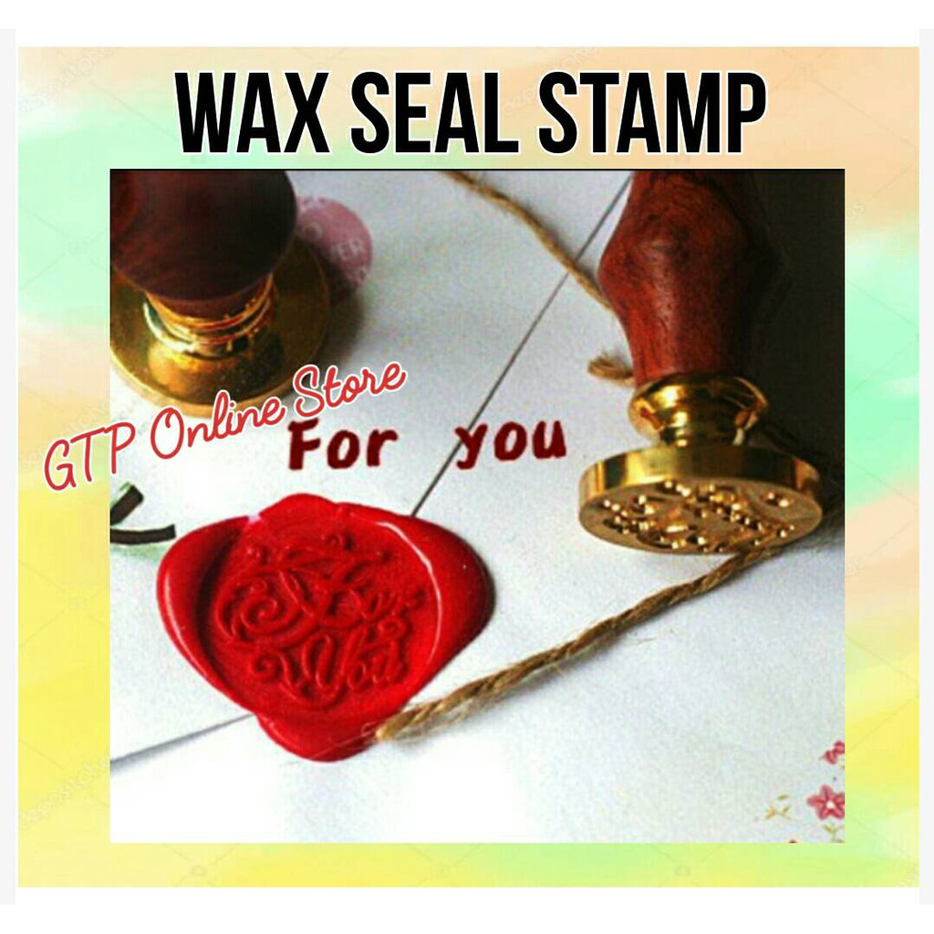 Wax Seal Stamp Seal for Wedding Invitation Envelope   Shopee Philippines