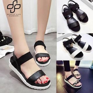 11e8b624fd 【COD】Beauty Summer Women Open Toe Ankle Strap Roman Sandals Fashion  Anti-skid Platform Shoes