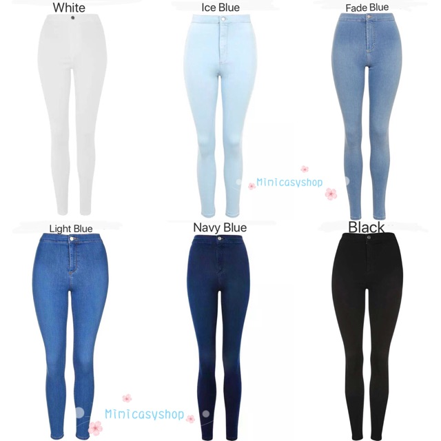 85684fcb58081 High-Waist pants skinny Stretchable Joni Jeans (25-32) | Shopee Philippines