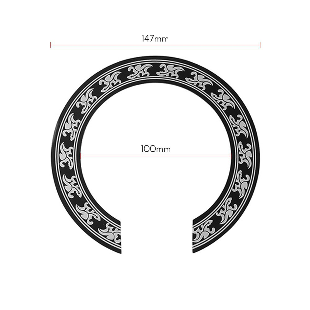 "Acoustic Guitar SoundHole ring Decal Sticker self-adhesive for 40/""//41/"" Guitar"