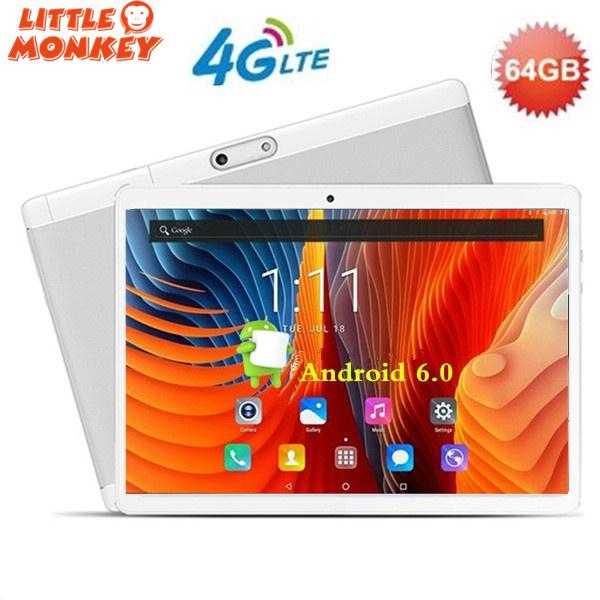 10 1 inch 3G Tablet 4+64GB Mobile Phone Android 6 0 Laptop &gift