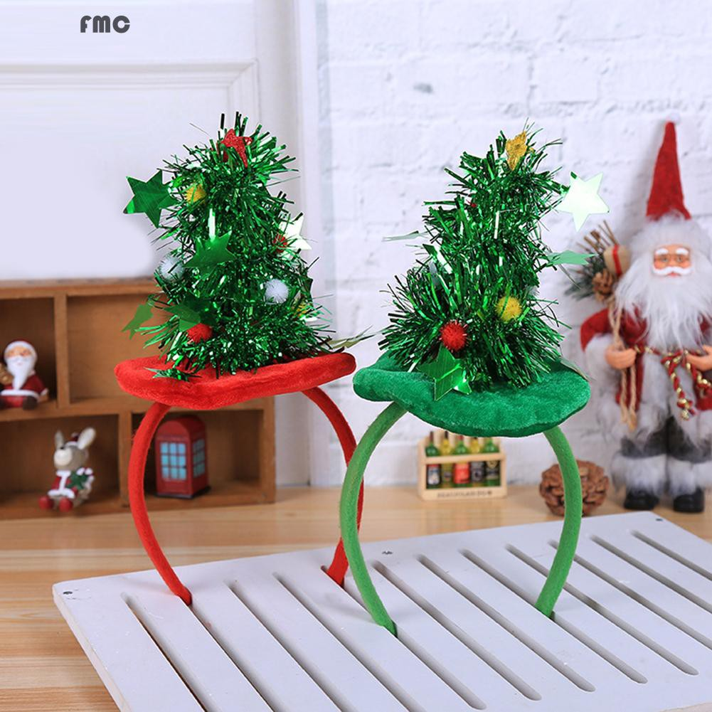 Fashion Christmas Tree Headband Perfect Decoration Headwear For