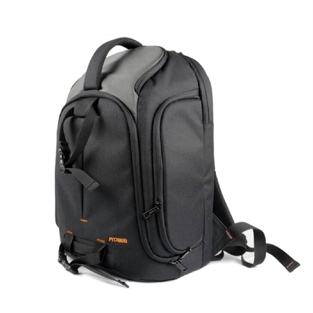 Acouto Waterproof Wear-Resistant Leisure Single-Shoulder Digital Camera Photography Bag Blue