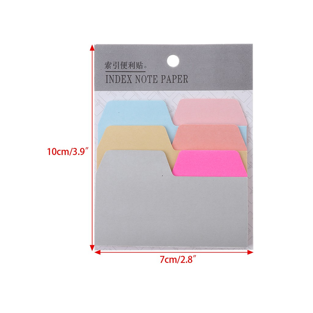 Post-it Pink Heart Note 7cm x 7cm Self Adhesive Pads 120 sheets x 4 Lot of 4 pcs
