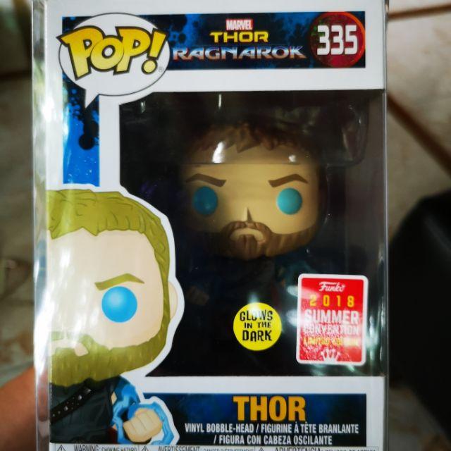 Thor Ragnarok Funko Pop Odin Force Glows In The Dark Shopee